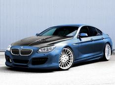 Hamann представил тизер BMW 6-Series Gran Coupe