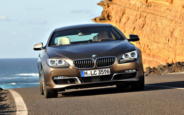 Hamann представил тизер BMW 6-Series Gran Coupe