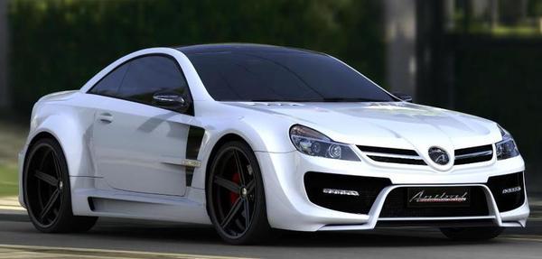 Mercedes-Benz SL-class от Anibal Design