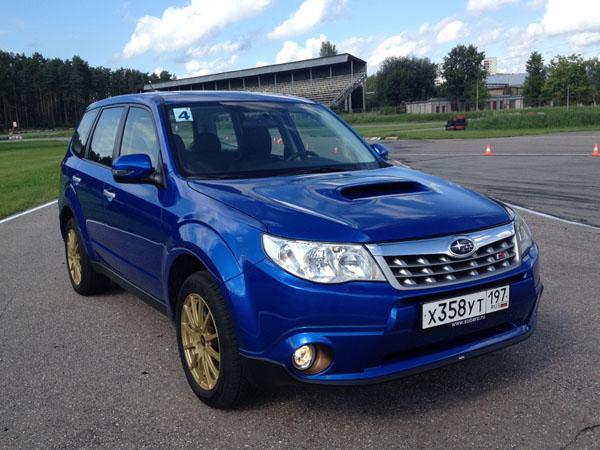 Subaru Forester tS оценили в 2 130 000 рублей
