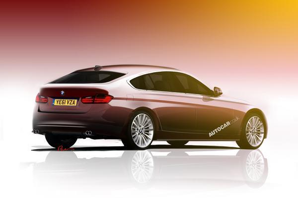 BMW покажет модель 3-series GT в Париже