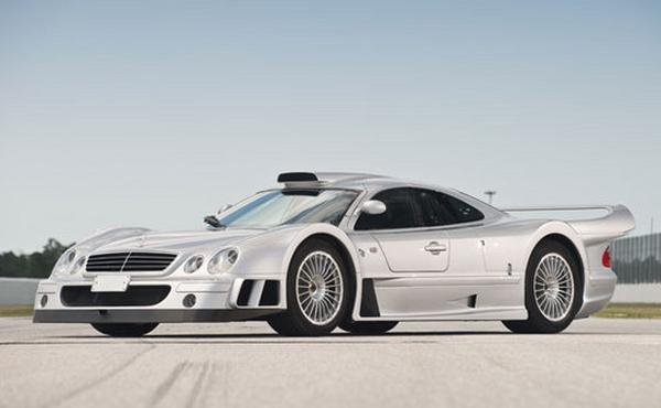 Mercedes-Benz CLK GTR 1998 выставлен на аукцион