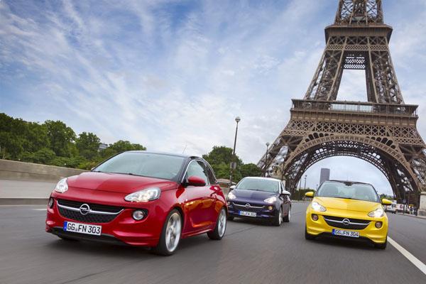 Прием заказов на Opel Adam начнется 27-го сентября