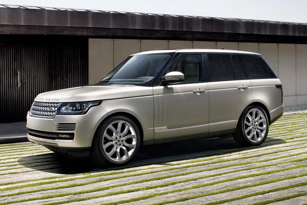 Новые фотографии Land Rover Range Rover 2013