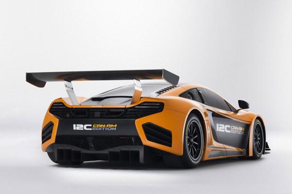 McLaren представит 12C Can-Am Edition в Пеббл-Бич