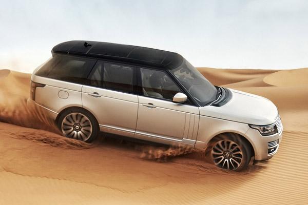 Официальные данные о Land Rover Range Rover 2013