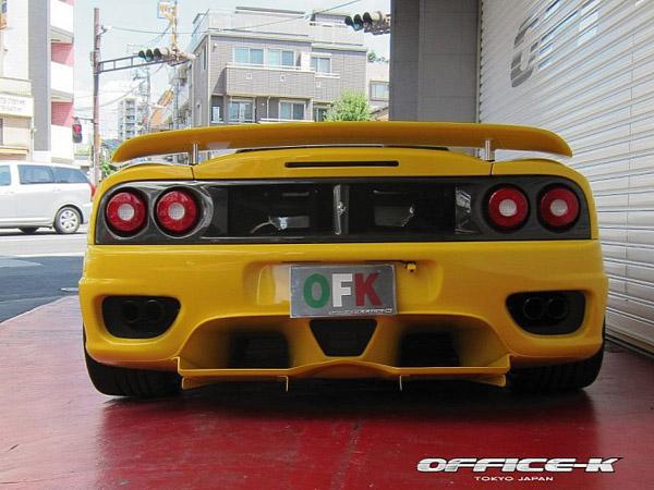 Ferrari 360 Spider от японского ателье Office-K