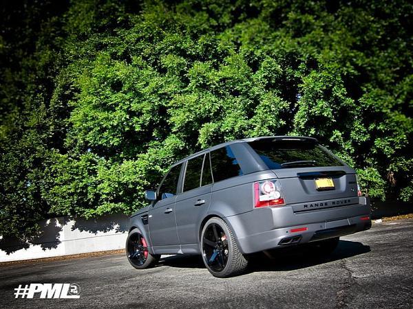 Range Rover Sport SC 2011 «Projekt Grey XIII»