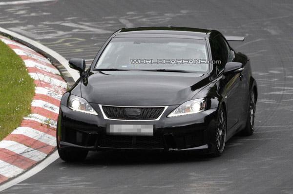 Lexus IS F 2014 может получить двигатель от BMW