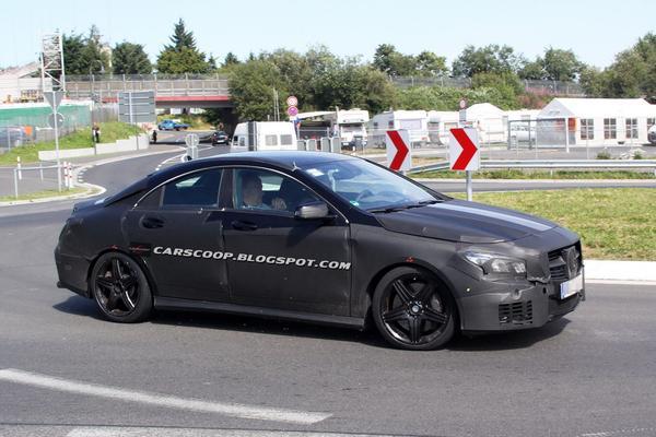 Шпионские фотографии Mercedes-Benz CLA 45 AMG
