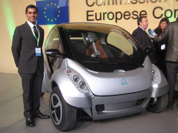 Hiriko Citycar EV - «складной» электрокар из Испании