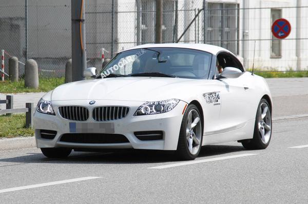 Новые данные о BMW Z4 M Performance