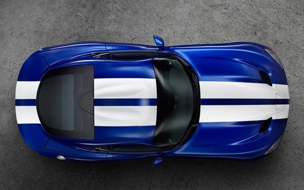 В Пеббл-Бич покажут SRT Viper GTS Launch Edition