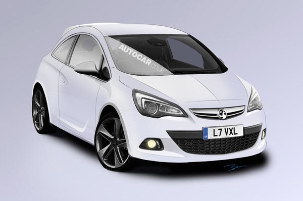 Opel Corsa 2014 позаимствует стиль Astra GTC
