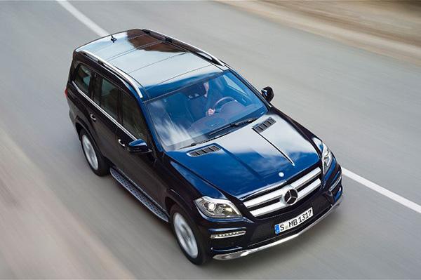 Новый Mercedes-Benz GL 2013 теперь и в России