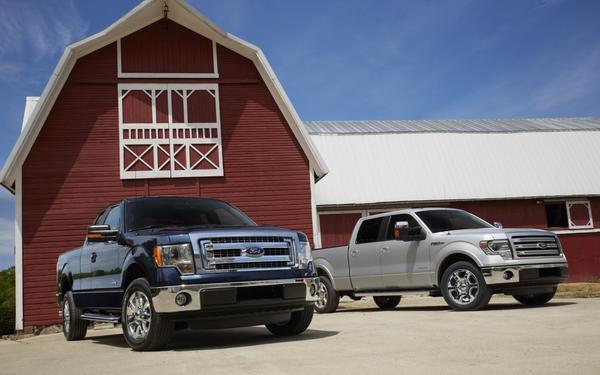 Ford и Toyota работают над гибридным пикапом F-150
