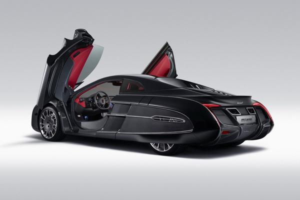 В Pebble Beach показан уникальный McLaren X-1