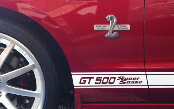 Shelby представил GT500 Super Snake и GT350 2013