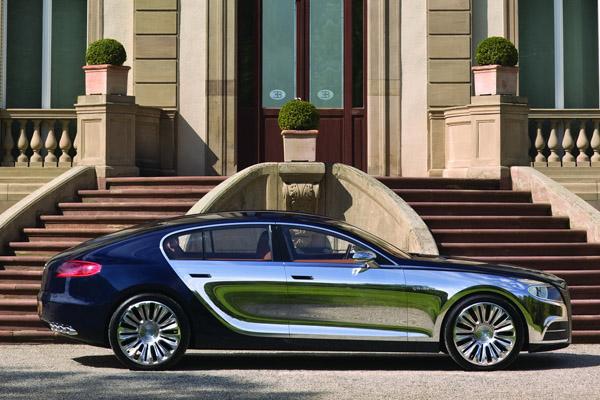Предел скорости Bugatti Galibier составит 378 км/ч