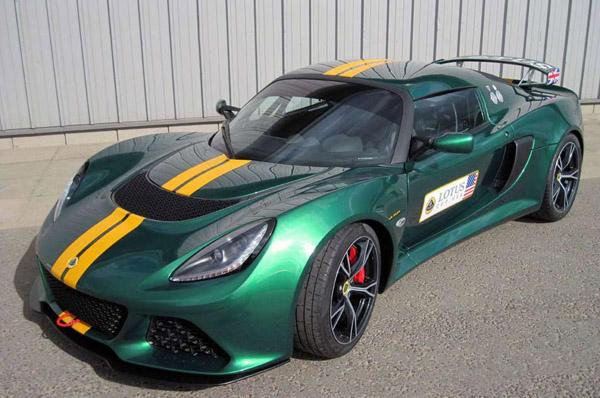 Lotus анонсировал трековый спорткар Exige V6 Cup