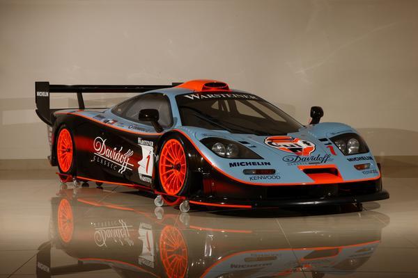 McLaren F1 GTR Longtail продан на аукционе Bonham