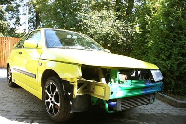Lada 112 Coupe «Turbo» мощностью 412 л. с.