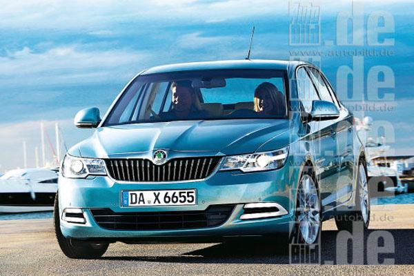 Skoda поделилась сведениями о новой Octavia 2014