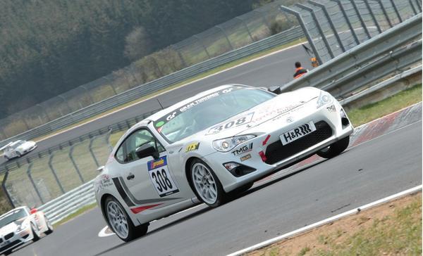 Toyota выпустила гоночную версию Scion FR-S/GT 86