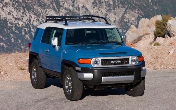 Toyota объявила цены на 5 моделей внедорожников