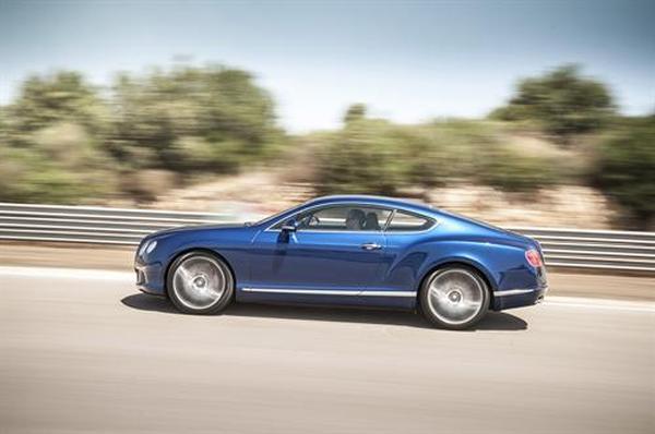 Стали известны цены на Bentley GT Speed 2013