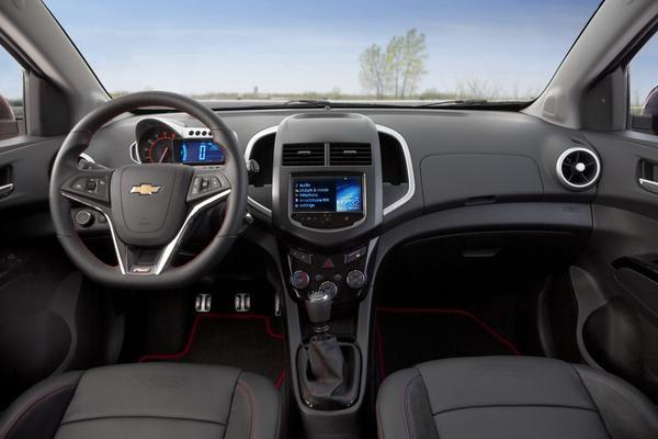 Chevrolet анонсировал цены на Sonic RS