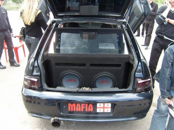 Эффектный шоу-кар Лада 112 Coupe «Biohazard 666»