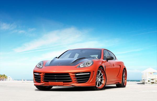 В Москве покажут Porsche Panamera «Stingray» №9