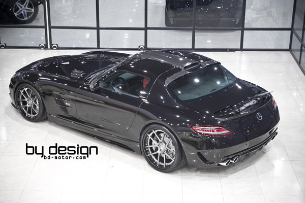 Bydesign Motorsport поработал над Mercedes SLS