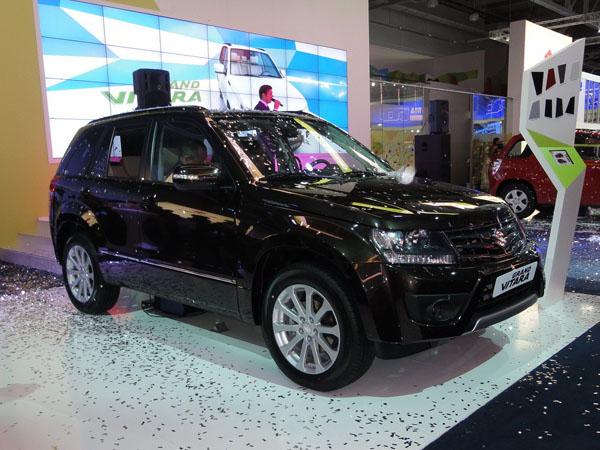 Suzuki показал российскую версию Grand Vitara 2013