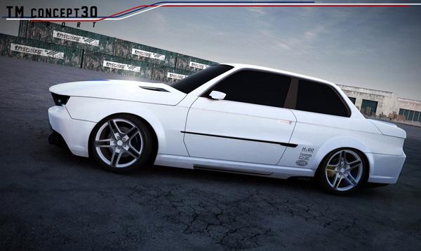 TM Cars вернул свежесть BMW 3-Series E30