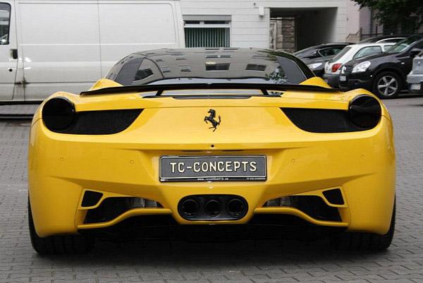 TC Concepts поработал над Ferrari 458 Italia