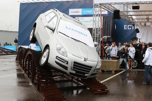 В Москве показали тайваньские авто марки Luxgen