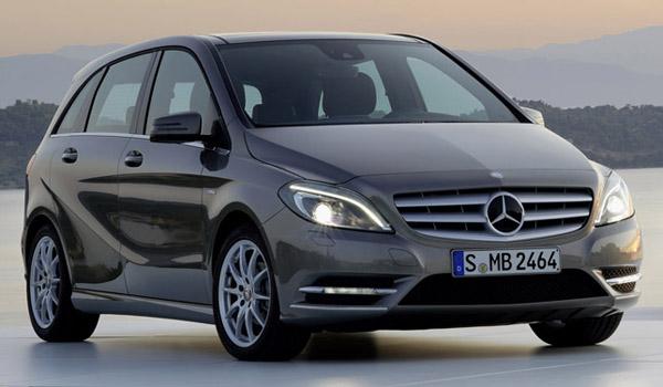 В 2013 году Mercedes B-Class сделают семиместным