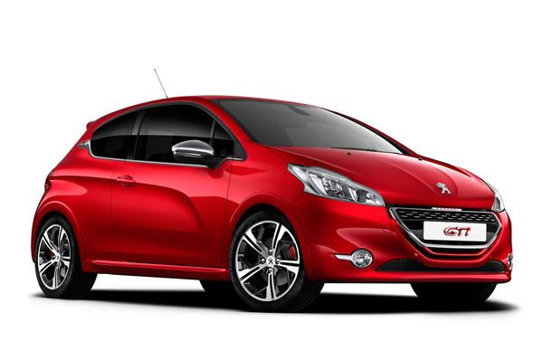 Peugeot рассекретил новинку Парижа - 208 GTi