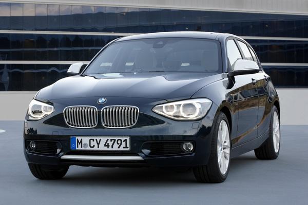 В модельном ряду BMW появился хэтчбек 114d