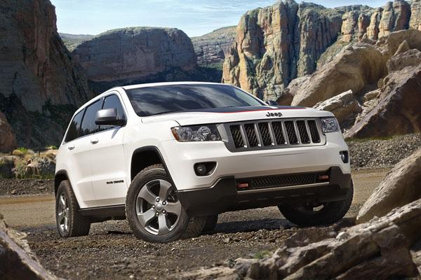 Grand Cherokee Trailhawk - новый вездеход от Jeep