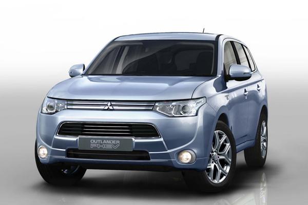 Mitsubishi подробно рассказала про Outlander PHEV