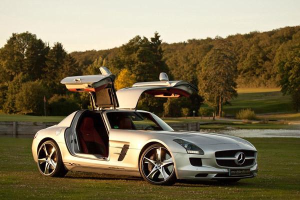 Mcchip-DKR «зарядил» Mercedes-Benz SLS AMG