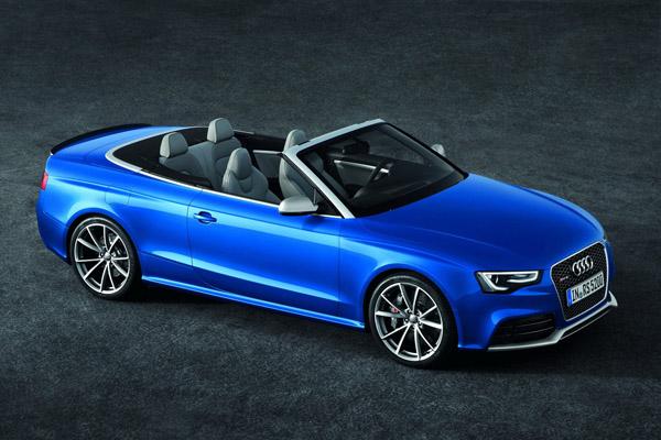 Обновленный Audi RS5 Cabrio оценили в 88 500 €