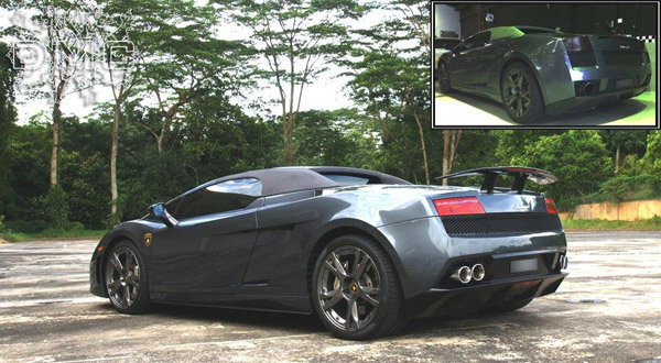 Lamborghini Gallardo Spyder SOHO от DMC