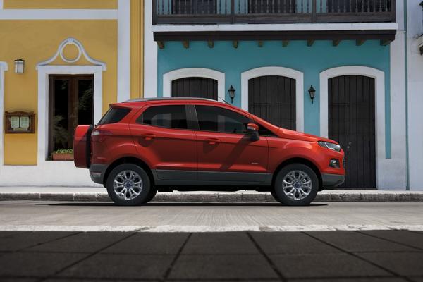 Ford представил три новых внедорожника для Европы