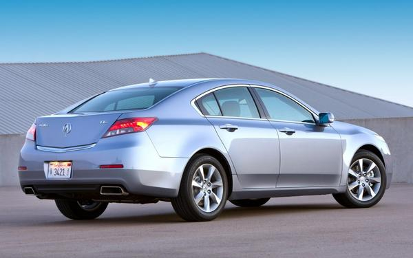 Honda объявила цены на модель Acura TL