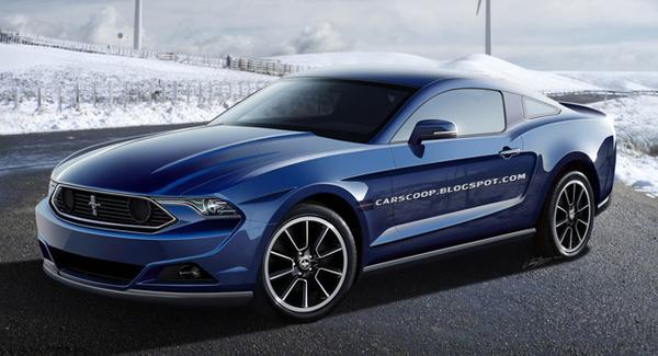 Ford представит новый Mustang для рынка Европы