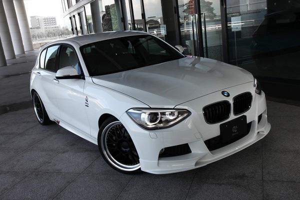 BMW 1-Series 2013 в тюнинге 3D Design